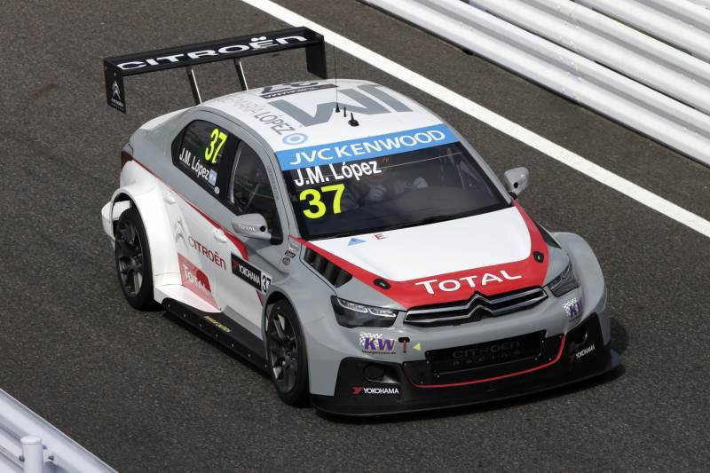 Photo of Wtcc Citroen e Lopez piloti campioni