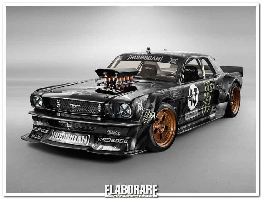 Photo of Ken Block GYMKHANA 7 Ford Mustang