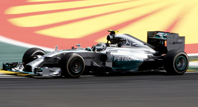 Photo of Numeri Mercedes Interlagos 2014