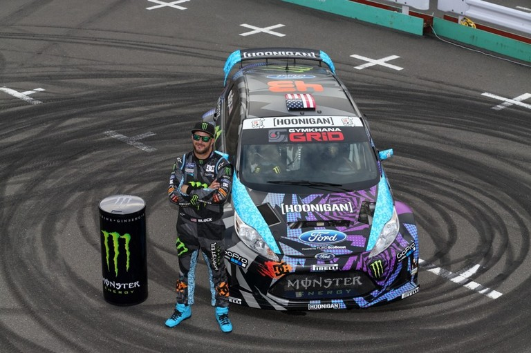 Photo of Ken Block al Motor Show