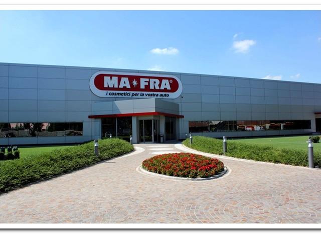 Ingresso azienda MA-FRA sede di Baranzate