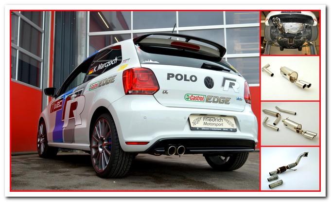 Photo of Scarico per VW Polo R WRC