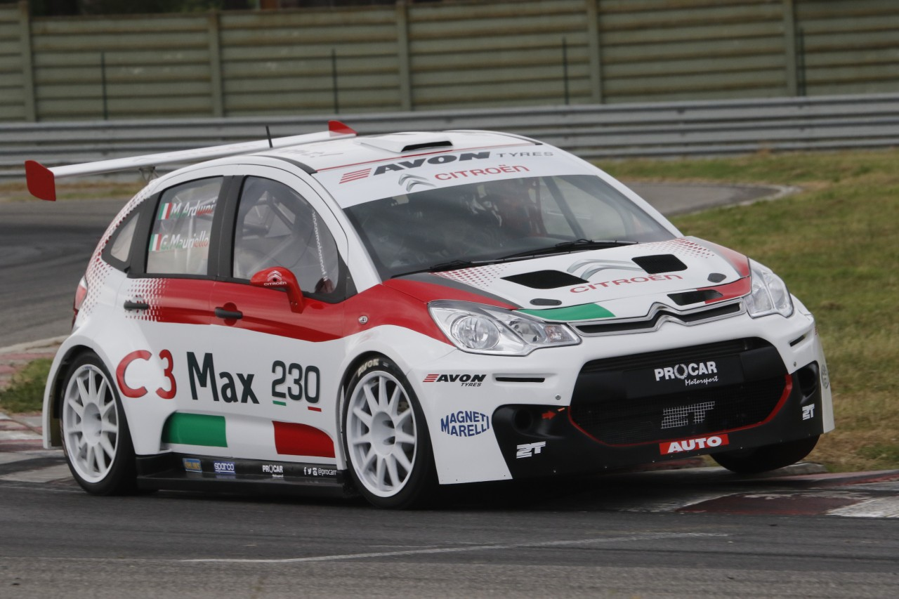 Photo of C3 MAX 250 CV IN PISTA A VALLELUNGA