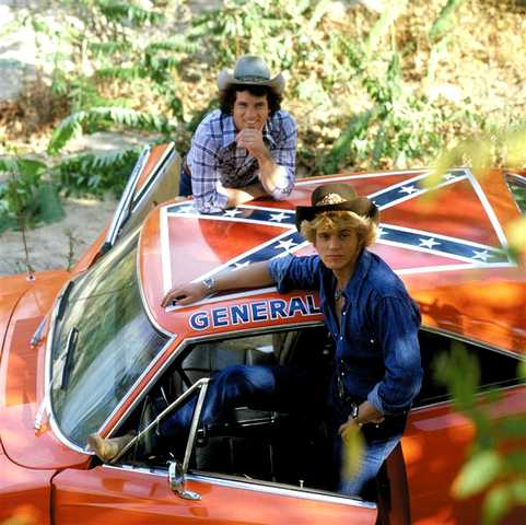 Dodge Charger Generale Lee telefilm Hazzard