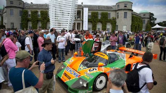 Photo of Goodwood 2015 festeggia Mazda