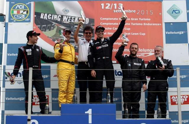 Citroen C3 Max Podio Gara 1 Vallelunga