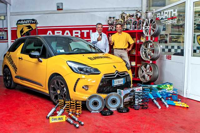 Photo of Modifica assetto e freni DS3