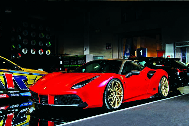 Photo of Ferrari 488 GTB tuning 1000 CV!