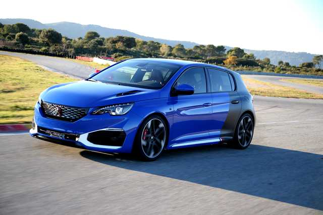 Photo of Peugeot 308 R Hybrid test prototipo