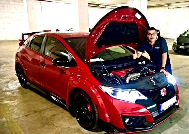 Photo of Honda Civic Type R elaborazione 350 CV