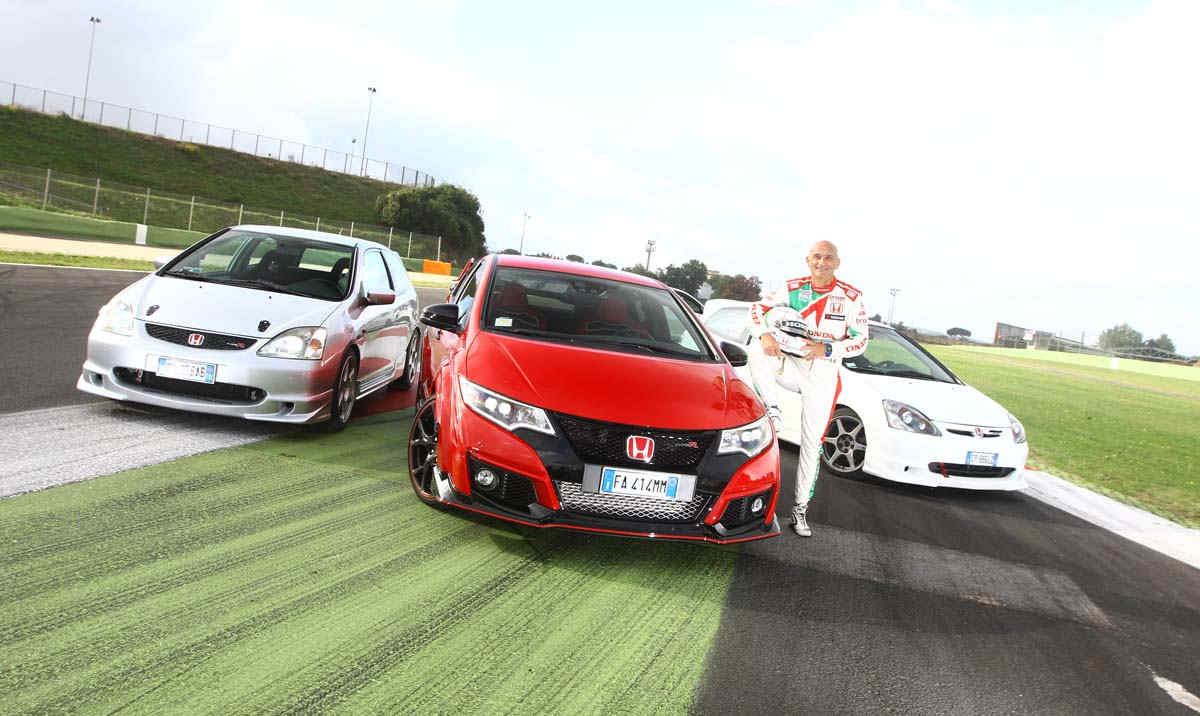 Honda Story Gabriele Tarquini Vallelunga ELABORARE