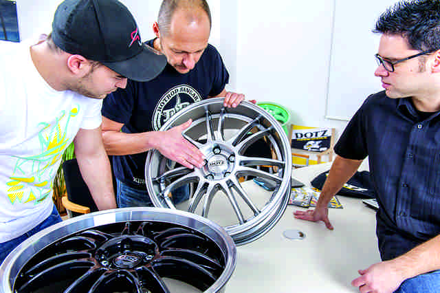 Photo of Alcar Contest Wheels disegna una ruota