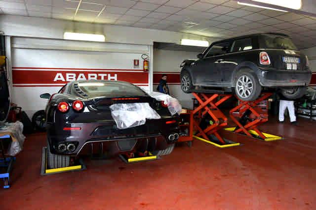 Leone Motorsport officina specializzata Ferrari e Abarth