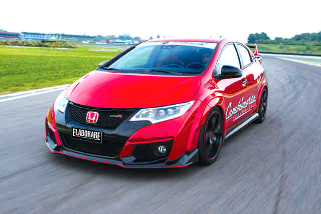 Photo of Honda Civic Type R FK2 test in pista Franciacorta