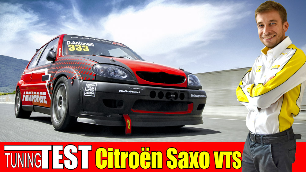 Photo of Citroen Saxo 180 cv Time Attack la prova