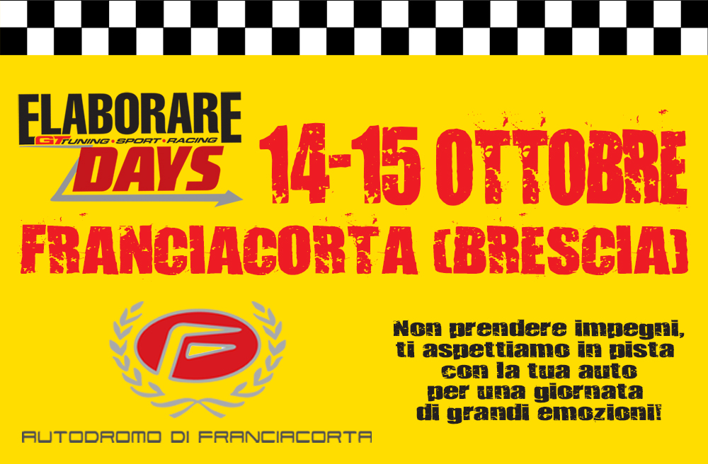 Photo of Elaborare Days 2017 calendario info costi date