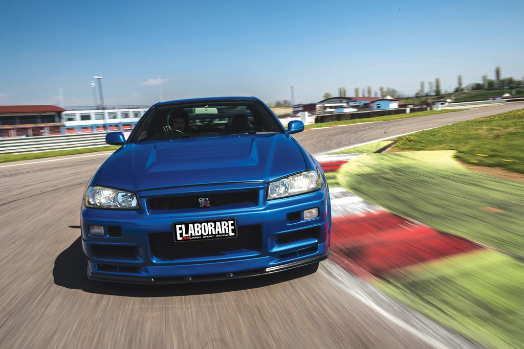 Photo of Nissan Skyline GT-R R34 preparazione 601 CV