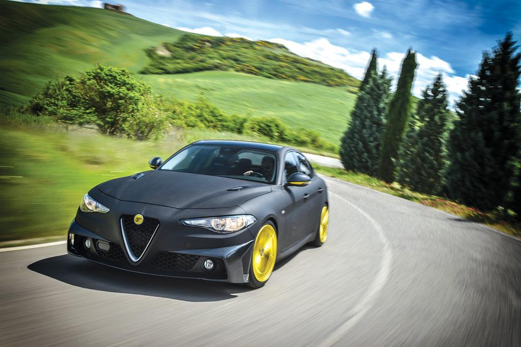 Photo of Alfa Romeo Giulia TM7 preparazione 180 CV