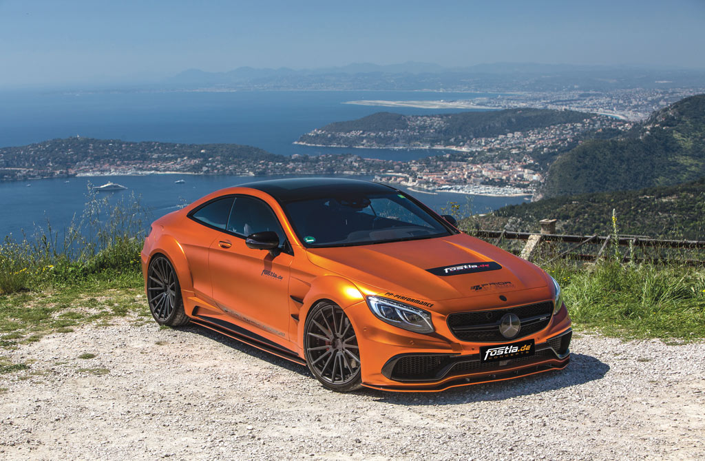 Photo of Mercedes S63 AMG Coupé top tuning 740 CV