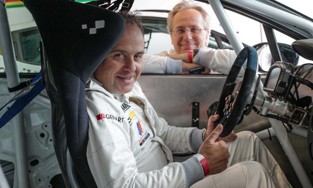 Renault Clio Cup Press League Mancini
