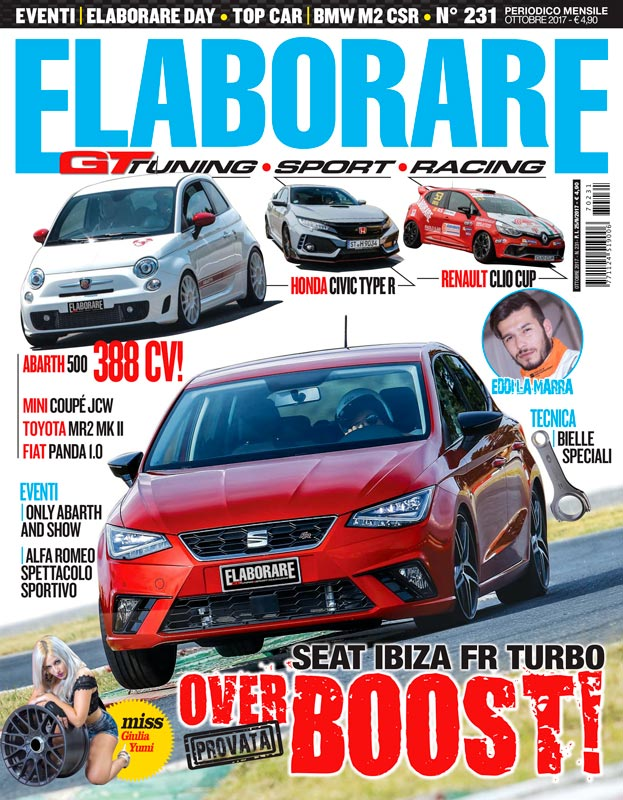 Photo of Elaborare Ottobre n° 231 Seat Ibiza FR Turbo