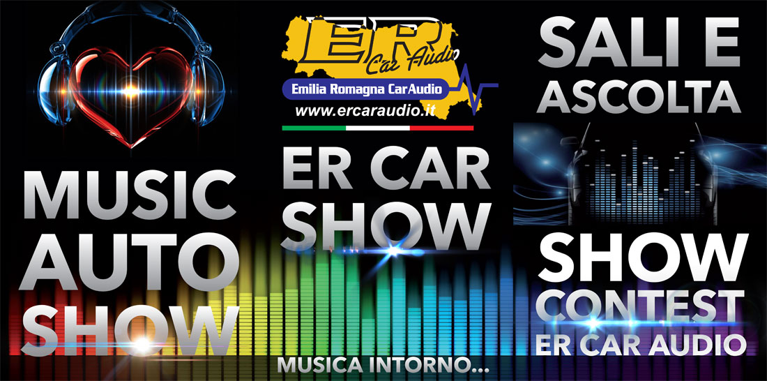 Trofeo Car Audio Emilia Romagna: Best in Show, Best Engine, Best Racing, Best Racing Classic, Best Classic, Tuning 2000 Style, Estetica & Design.