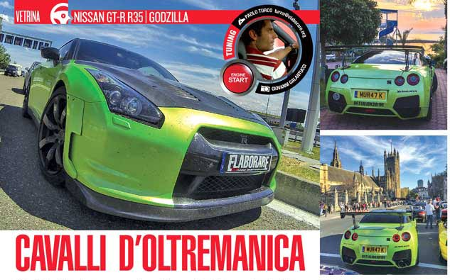 Nissan-GT-R Godzilla Elaborare magazinee