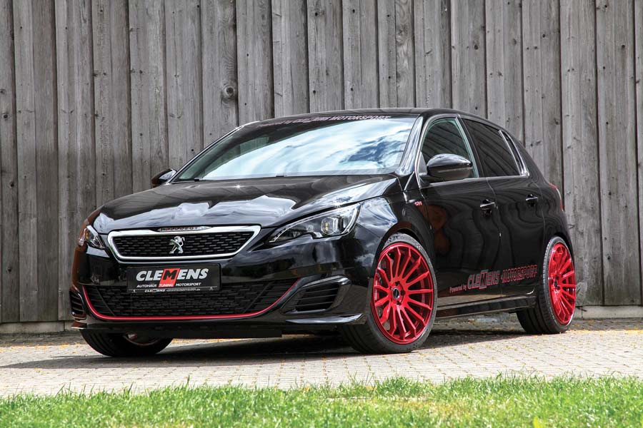 Tuning Peugeot 308 GTi top car elaborazione tuning tedesco 310 CV