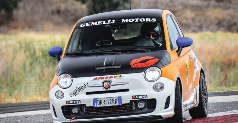 """Abarth 500 """"Speedy"""" elaborata con preparazione Gemelli Motors"""