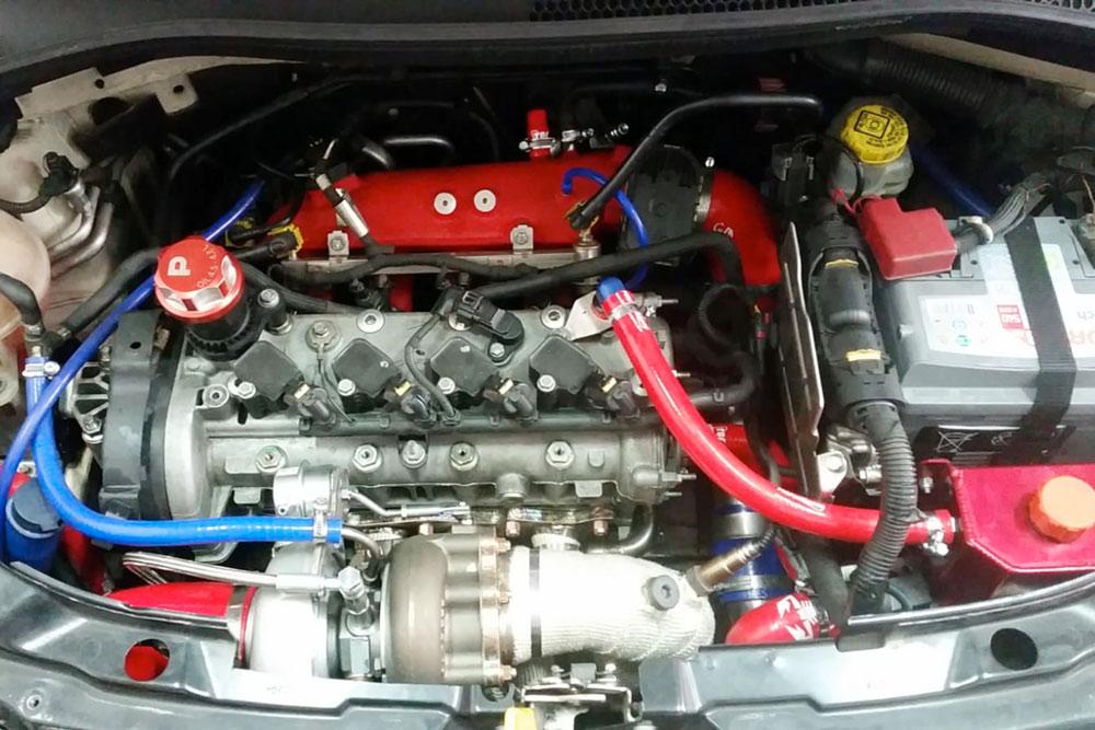 Abarth 500 Speedy Elaborata Con Preparazione Gemelli Motors