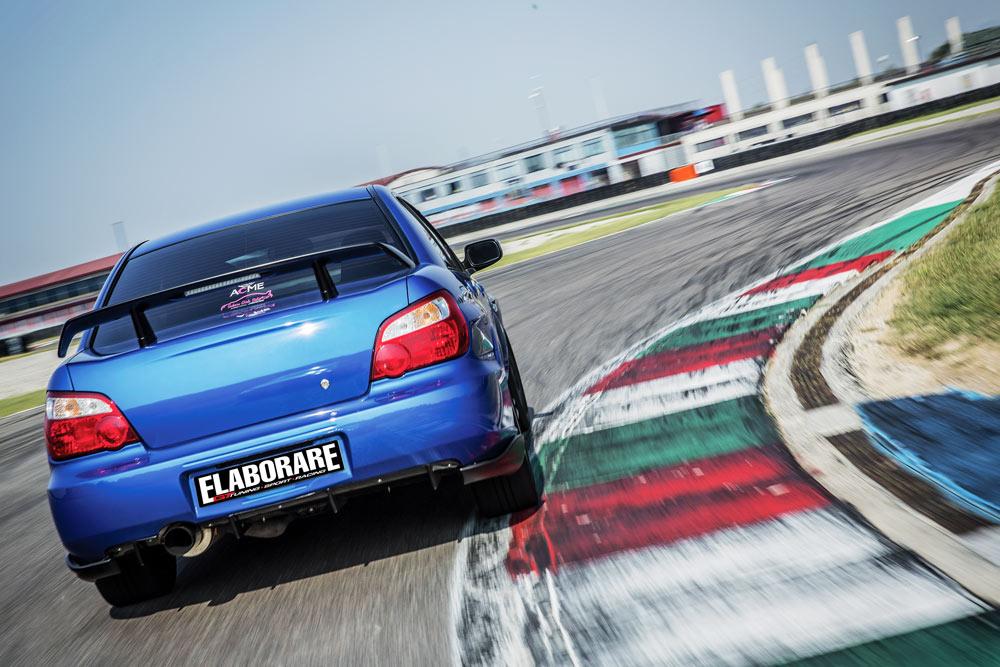 Subaru Impreza STi elaborata con preparazione Ganazzin