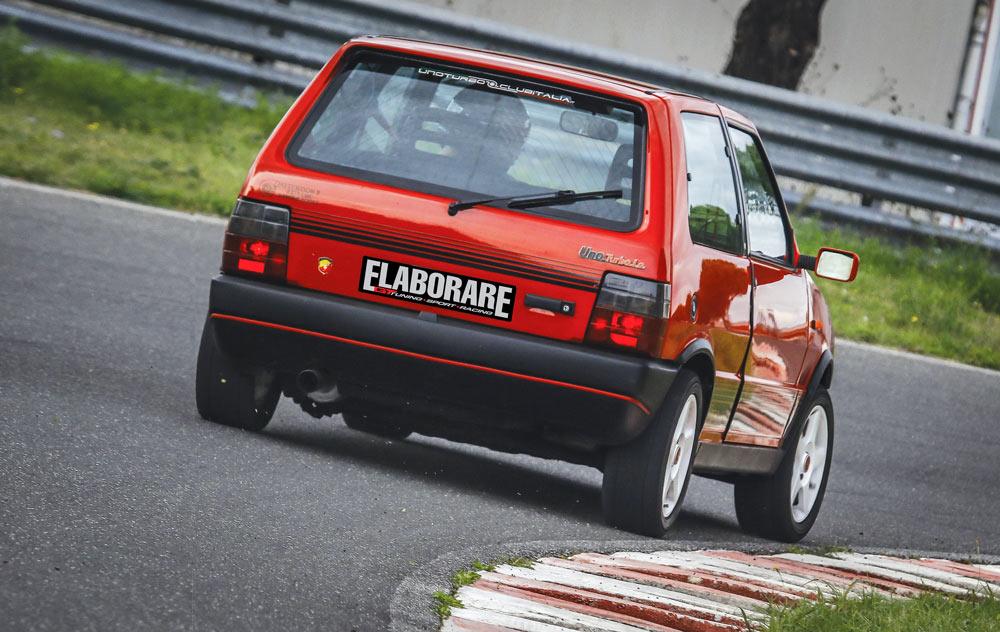 Fiat Uno Turbo elaborata
