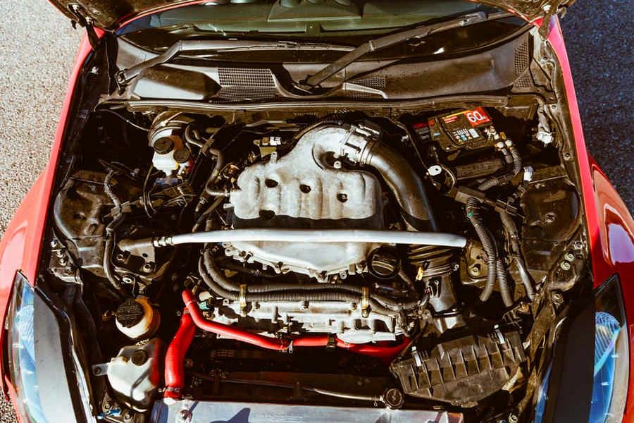 Nissan 350Z elaborata con preparazione Daba Drift Team