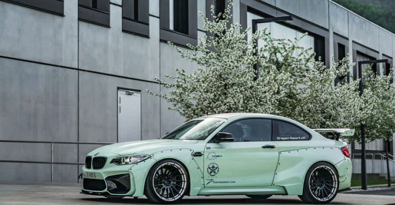 BMW M2 Widebody by Z-Perfomance top car elaborazione 370 CV