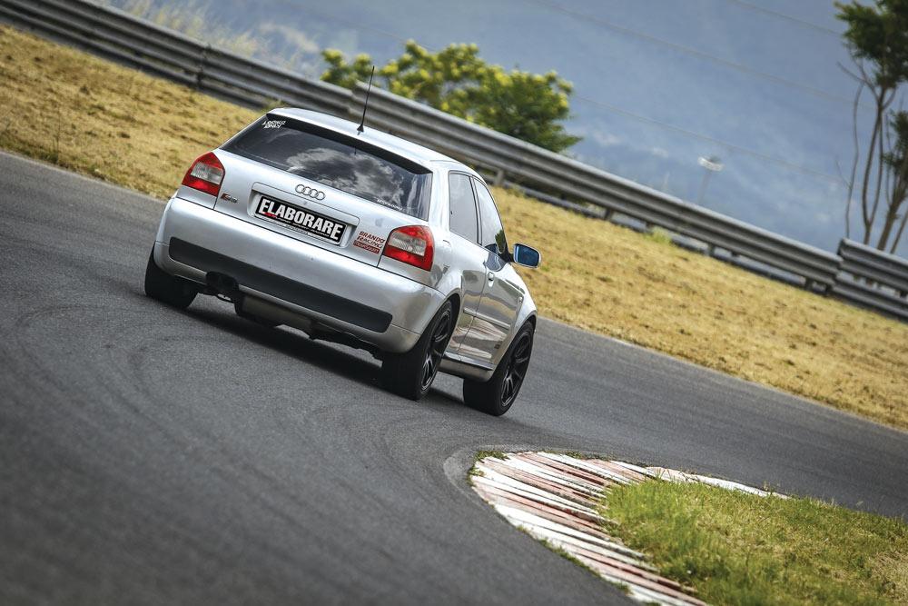 Audi S3 8L elaborata 490 CV con preparazione Brando Racing- posteriore