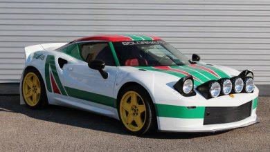 Alfa Romeo 4C elaborata in Lancia Stratos con preparazione Boldrin Auto