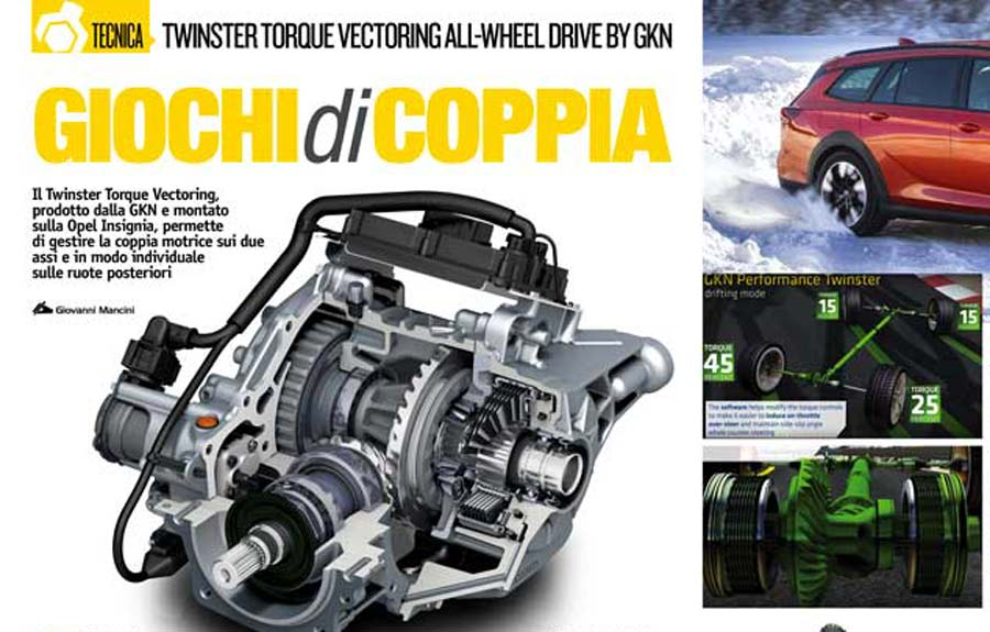 Twinster Torque Vectoring All-Wheel Drive