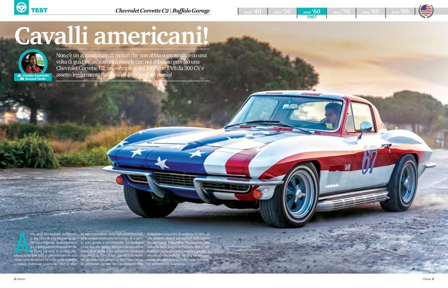 Chevrolet Corvette C2 auto storica americana elaborata da Buffalo Garage