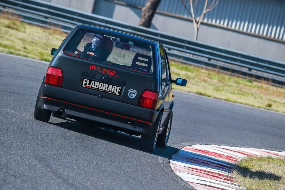 Fiat Uno Turbo elaborata 256 CV con preparazione Massimo Malandra