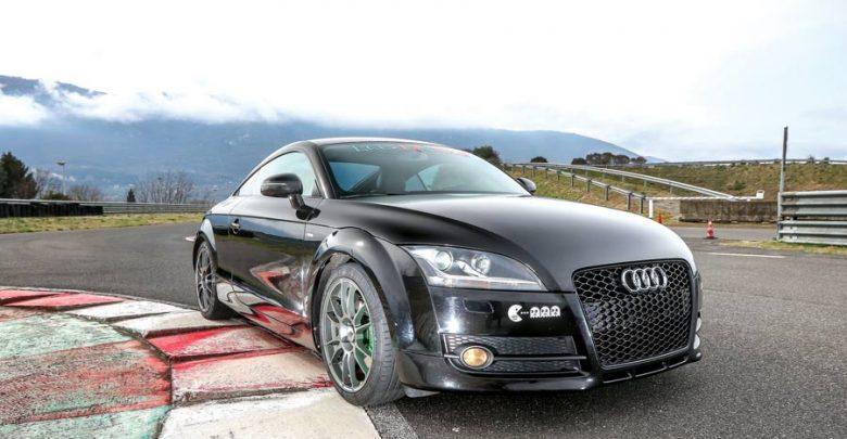 Audi TT TDI elaborata 289 CV con preparazione Ecu-Tronika