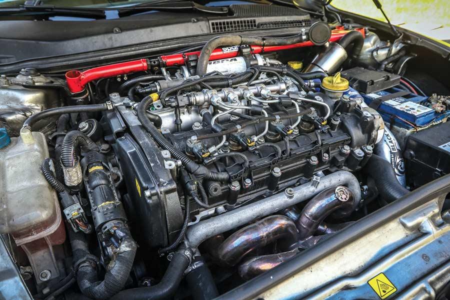 Alfa Romeo 147 JTDm elaborata 384 CV con preparazione Black Max