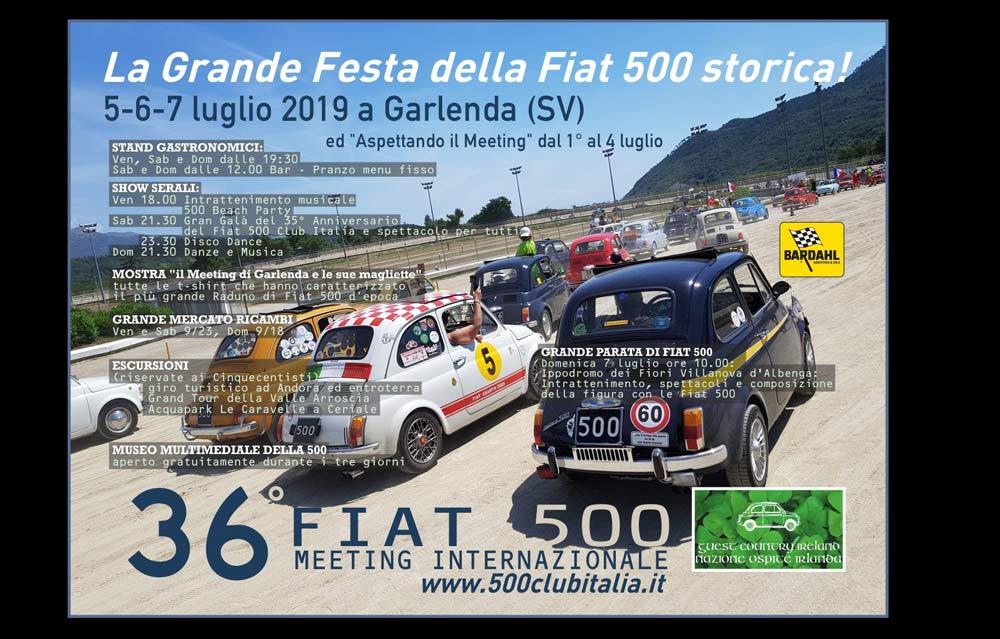 Calendario Raduni Fiat 500 2020.Raduni Club Motori Tuning Luglio 2019 Calendario Date