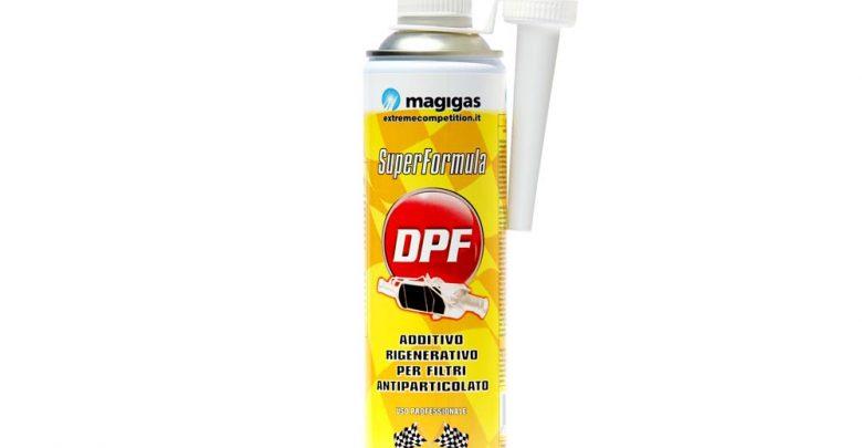 Come pulire il filtro antiparticolato con l'additivo Superformula DPF-FAP by Magigas