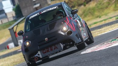 Photo of Abarth 695 Biposto elaborata 320 CV con preparazione Old School Garage