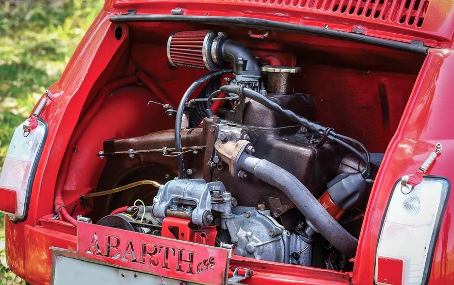 Motore Fiat 500 L auto storica con preparazione DCgarage