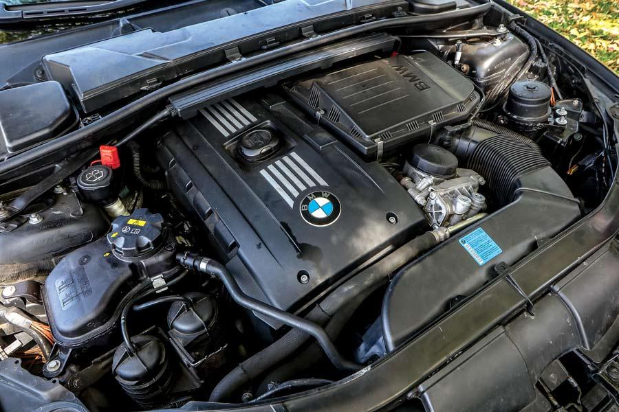 Motore BMW 335i M Sport elaborata 410 CV con preparazione Maizza Autofficina