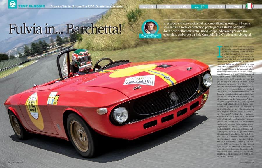Lancia Fulvia Barchetta by Scuderia Tricolore