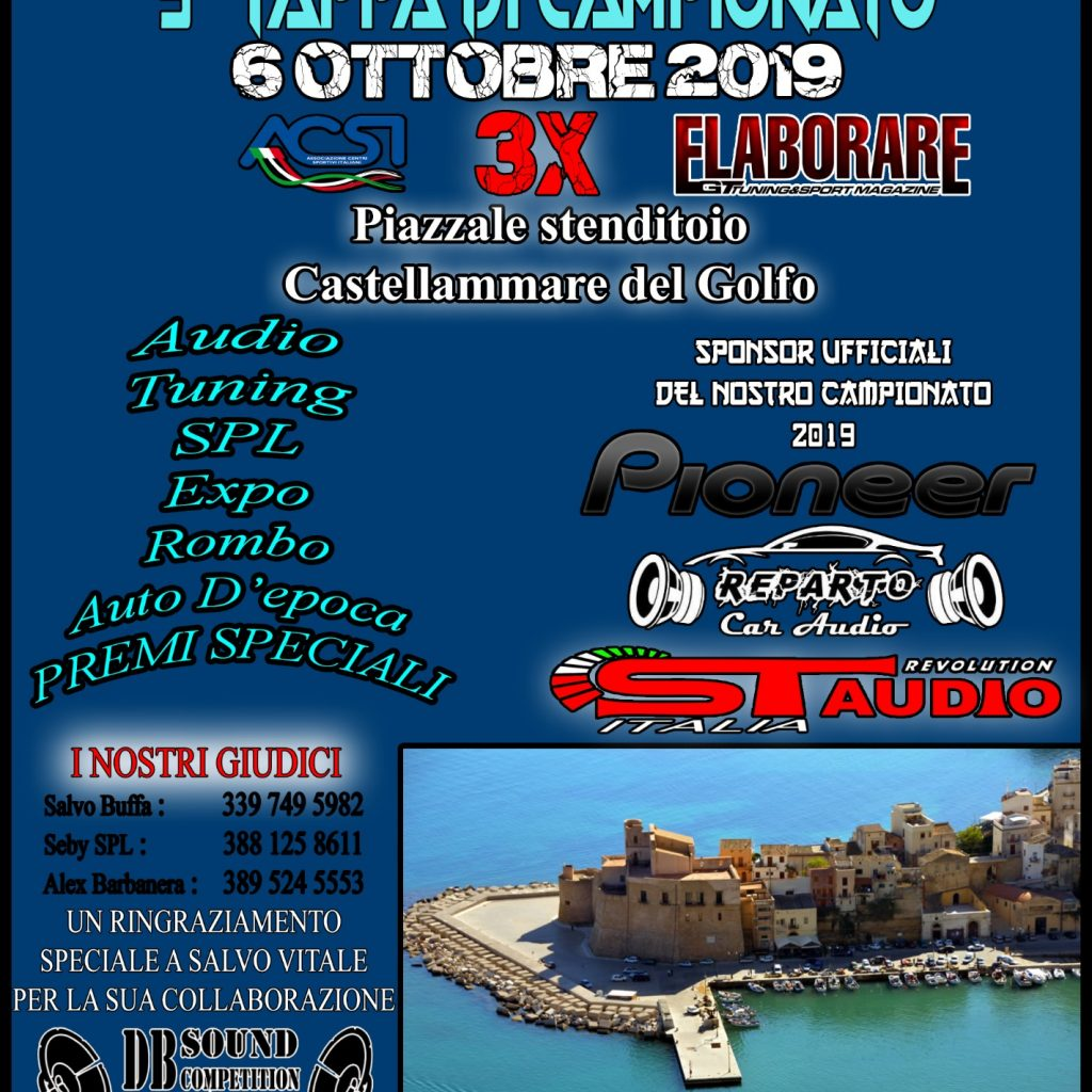 9a Tappa Campionato DB Sound Competition