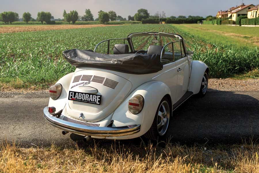VW Maggiolone 1303 Cabrio  auto storica elaborata sportiva con preparazione Officina Labò