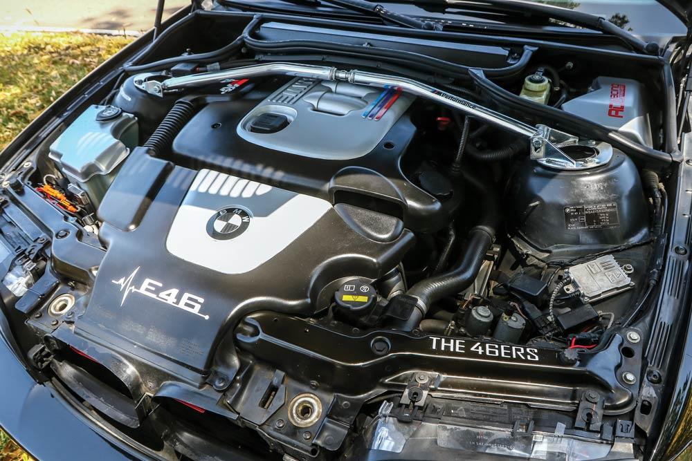 BMW 320d E46 coupé elaborata 190 CV con preparazione Officina Maizza